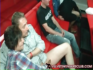 Velvet Swingers pub gang-fuck hump soiree Real couples only