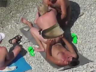 Beach mature swingers