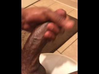 Big black cock bursts A ample nuts! Attempt Not To jizm Challenge)