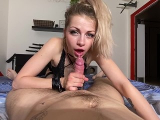 Angie is a unspoiled angel and she enjoys deep-throating