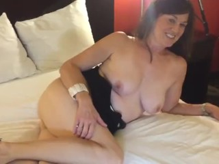 Hubby Directs his wifey with big black cock