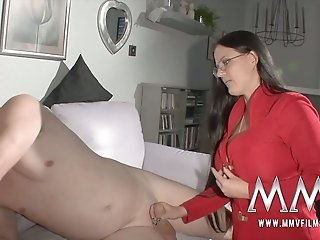 Kinky mature freak enjoyed steamy 3 some with busty hotties