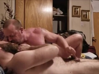 Ample dad Bodybuilder raw pounds His pounding accomplice