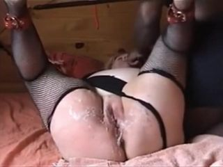Multiracial domination & submission with milky mummy Silvia