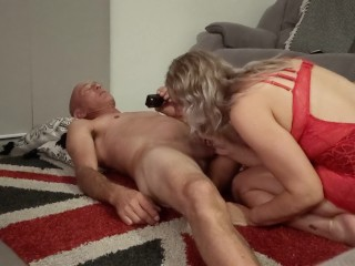 Super-drilling-hot pegging & drill on Union wank, immense spunk guts ejaculation - minute MOO