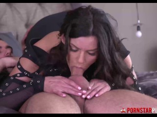 PORNSTARPLATINUM cougar Becky Bandini penetrated By youthfull thick cock