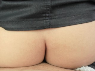 Astonished by assfuck after work