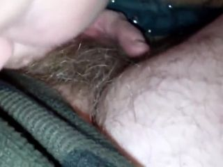 MY mega-slut swallowing MY nut