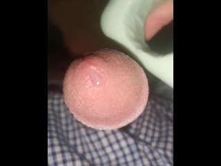 Slamming my milky beefstick in soap and cuming to my aunt