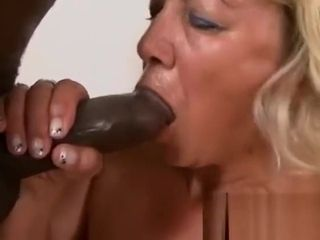 Casual enormous jugged granny is highly happy to get pounded by a ebony monsbefore-hi-3