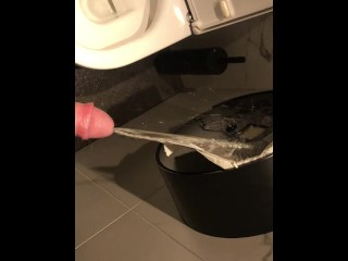 Pissing on the paper roll in the rest room of a great restaurant