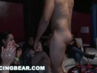 """""""DANCING hunk - Bachelorette CFNM soiree heads naughty For fat Cock"""""""