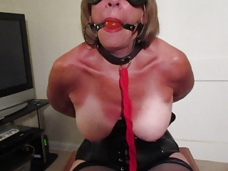 wife struggles in her bondage