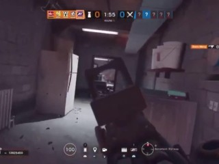 5 non unbelievable gamer porked by one unbelievable gamer in one obese of rainbow 6