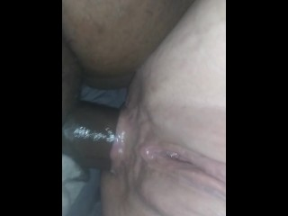 I enjoy when father crams my ass with his big black cock preview