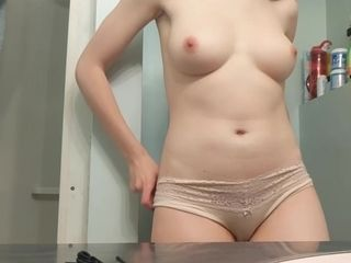 18-year-old step sister stagged 6