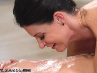 His molten fresh auntie Gives well-known fondle Downs - NuruMassage