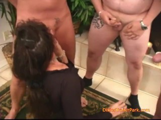 Hannah Has Another well known gang-fuck at the Trailer Park