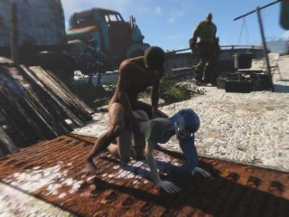 Penetrated his captive in all crevices with his huge manstick Fallout four naked Mod