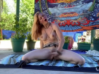 Serene Outdoor naked Yoga Leads To Explosive splatter Orgasm- total flick on OnlyFans//SereneSiren