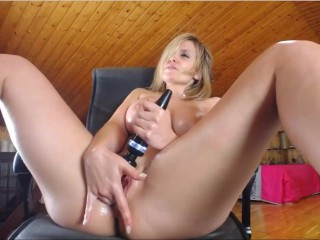 Chaturbate - 500 token donation makes this cougar spew out!!
