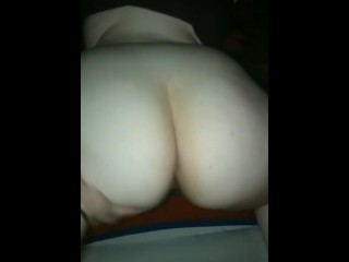 Teen with massive donk takes it from behind