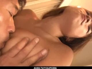Slender Misaki Tanemura takes the clothes off for a super-cute drill - More at 69avs.com