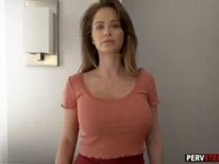 Pretty step-mother Emily Addison thought about boys pink cigar and got caught handsome cougar became naughty after brief dialogue with son-in-law He u