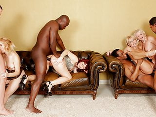 Bi-racial anal invasion hook-up on Mature damsels
