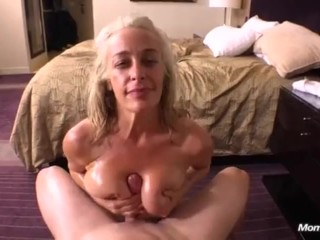 Rump plowing plow large all-natural melons spectacular milf