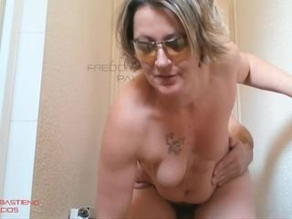 Step-mother plowed rock-hard In douche