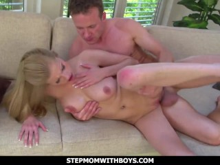 Stepmom With guys luxurious stepmom exercise penetrating With sonnie