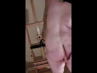 Just toying my fake penis.
