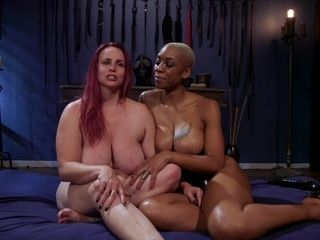 Ashley Paige & Bella Rossi in g/g spandex Blasphemy: Ashley Paige Whips the Sin Out Of Bella Rossi - WhippedAss