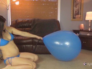 Inflate and rail to Deflate Balloon