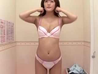 Sizzling housewife attempting out hooter-sling