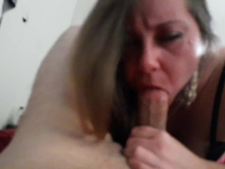 POV-Sexy brown-haired deep mouths boyfriends massive pipe