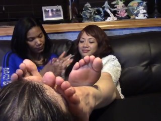 Sweat-soaked soles