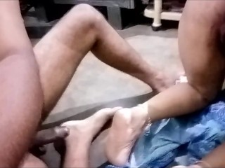 Indian cougar Maid cunt nailing During Her menstruations doggie-style