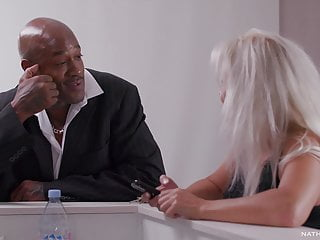 Kathy Anderson Caught cuckold with Sensi's big black cock up her caboose