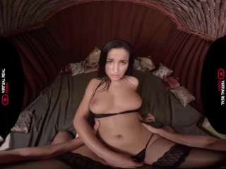 Uber-sexy Latina Missionary point of view VR