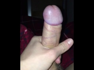 Good-sized dry pecker waiting to be deep throated