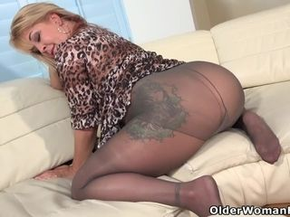 Fat-chested housewife Rebecca enjoy gets engaged with a fat dark-skinned fuck stick