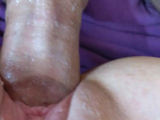 Monstrous stiffy cock-squeezing cooch